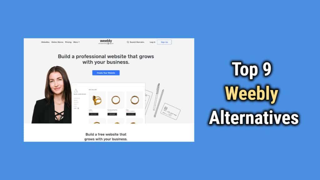 Top 9 Weebly Alternative Sites