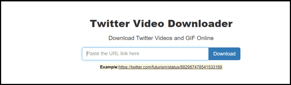 download gif from twitter PC