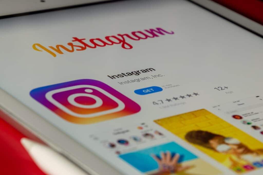 iPad Instagram